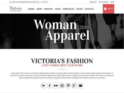 Victoria WooCommerce WordPress Theme