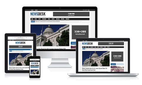 MH Newsdesk WordPress Theme