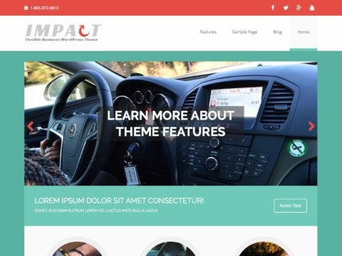 MH Impact - Business WordPress Theme