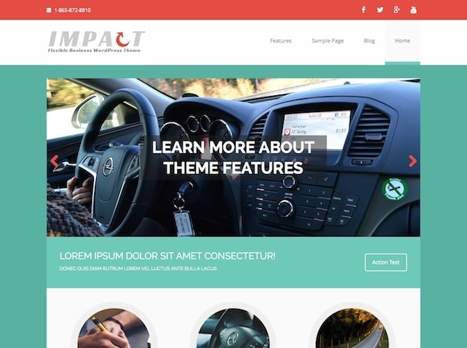 MH Impact Business WP Theme