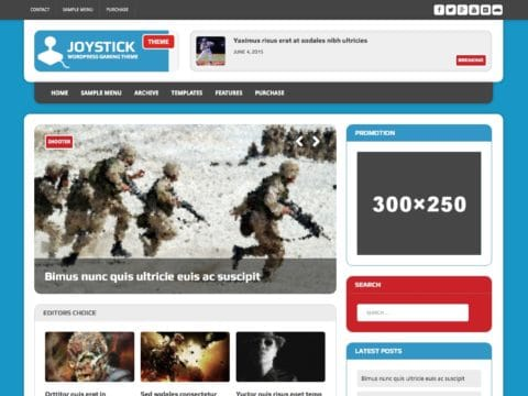 MH Joystick WordPress Theme