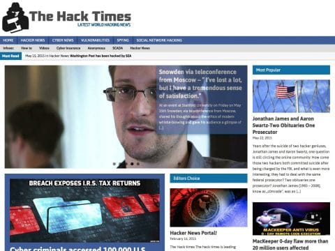 The hack times