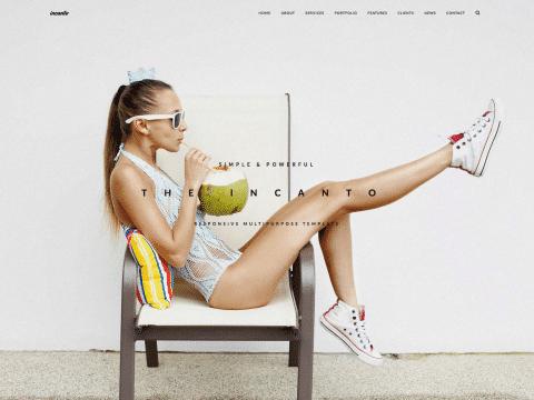 Incanto WordPress Theme