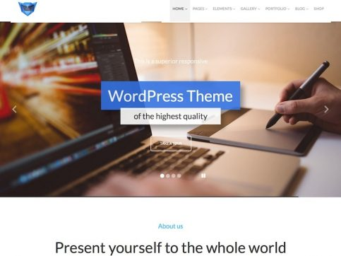 Monstroid Multi-Purpose WordPress Theme