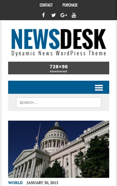 Mobile Preview MH Newsdesk