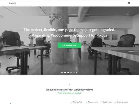 Pixova WordPress Theme