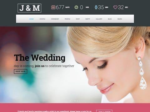 WeddingSuite WordPress Theme