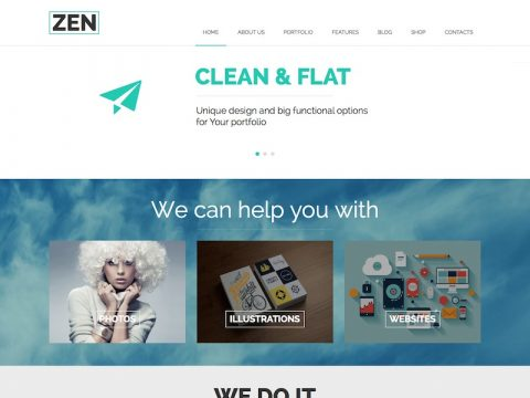 ZEN WordPress Theme