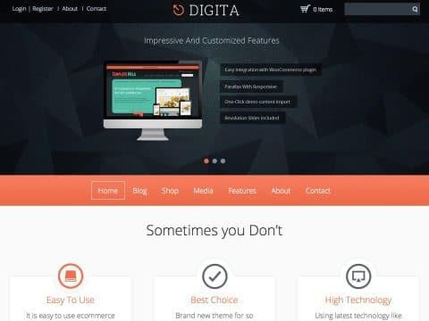 Digita WordPress Theme