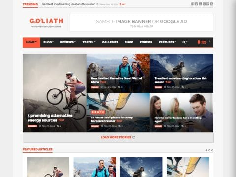Goliath WordPress Theme