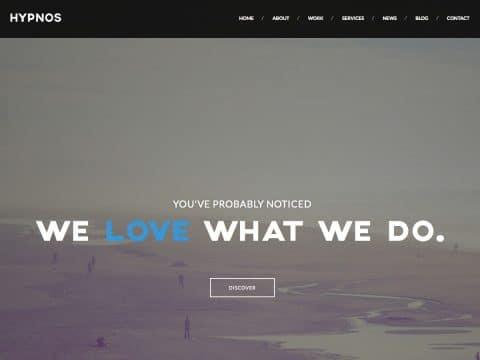 Hypnos WordPress Theme