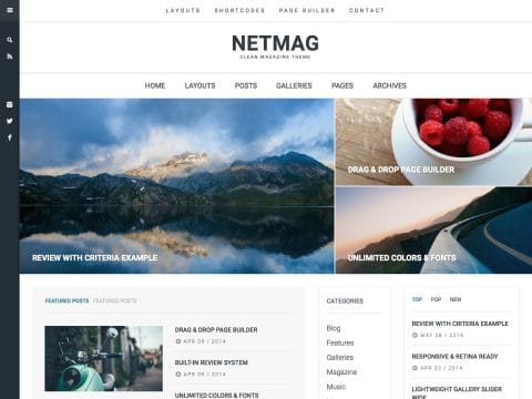NetMag WordPress Theme