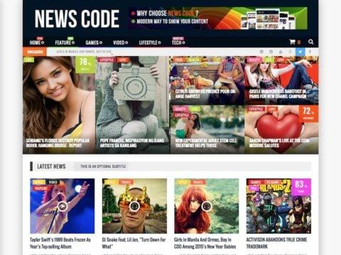 NewsCode WordPress Theme