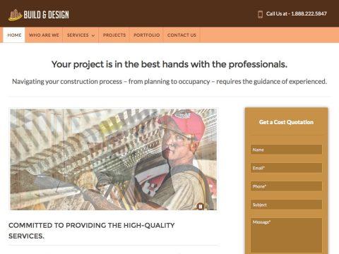 Build Design WordPress Theme