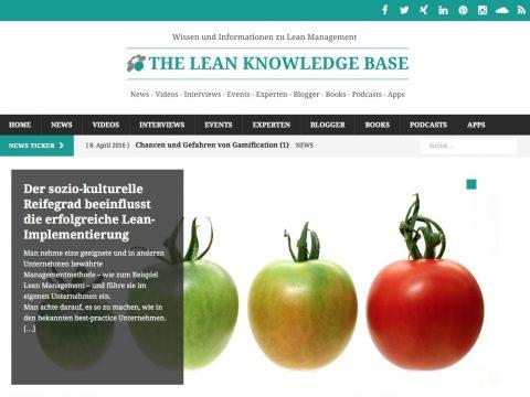 Lean Knowledge Base