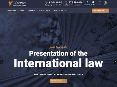 Libero WordPress Theme