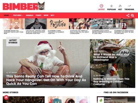 BIMBER WordPress Theme