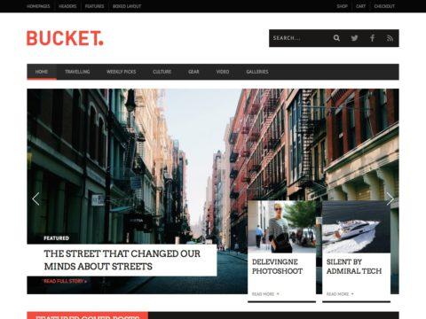 BUCKET WordPress Theme