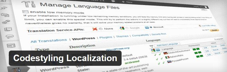 Codestyling Localization