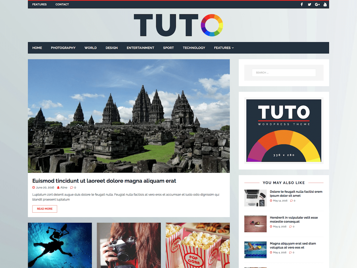 Tuto (new design)