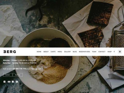BERG WordPress Theme