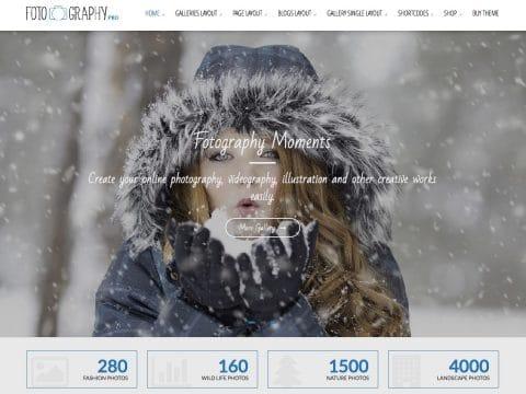 Fotography Pro WordPress Theme