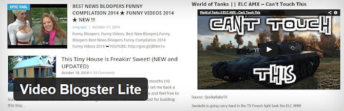 Video Blogster Lite