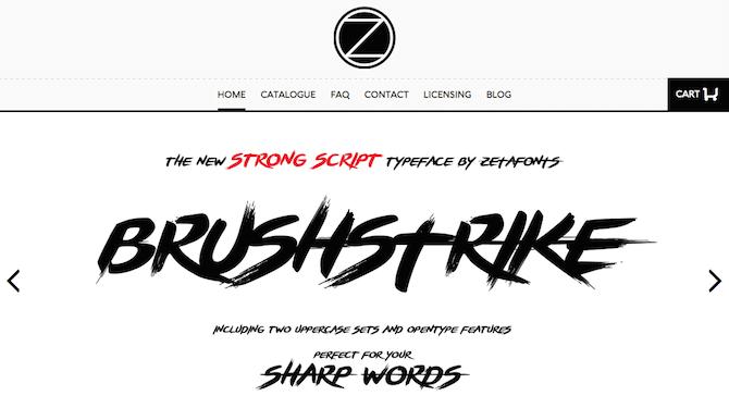 Zeta Fonts