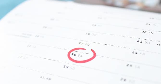 Backup Schedule