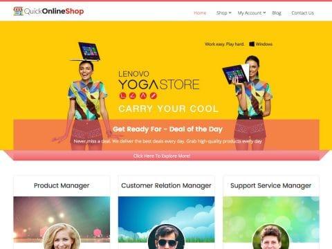 QuickOnlineShop