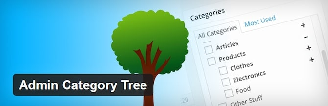 Admin Category Tree
