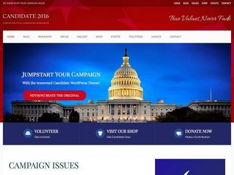 Candidate WordPress Theme