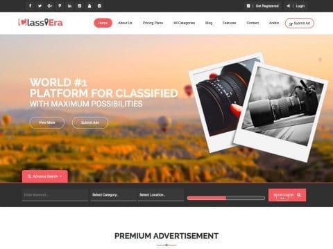 Classiera WordPress Theme