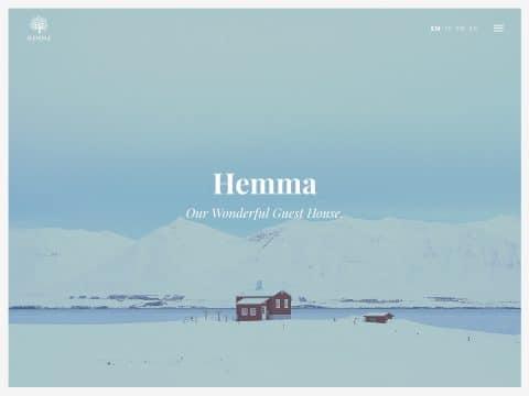 Hemma WordPress Theme