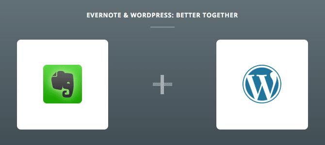 Evernote & WordPress