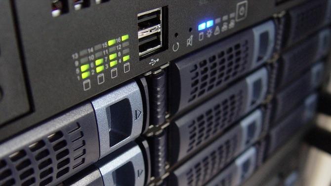Hosting Server Rack