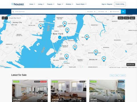 Houzez Real Estate Theme