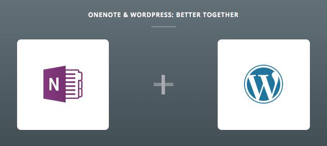 OneNote & WordPress