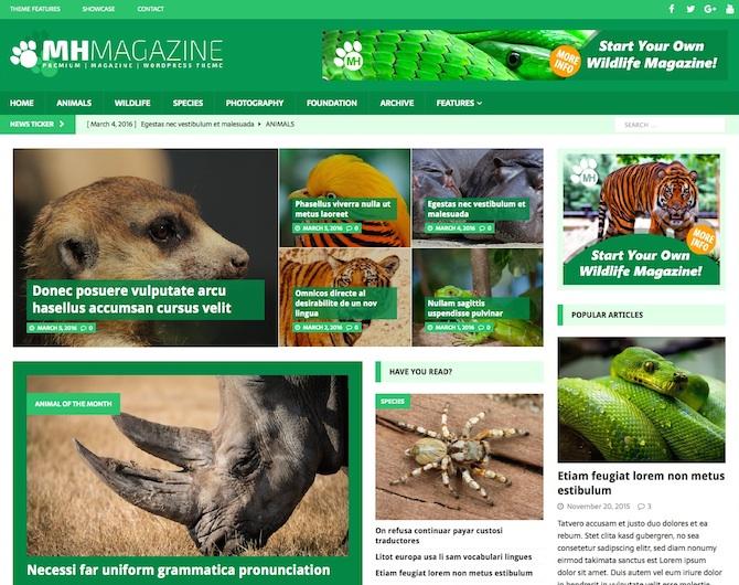 Wildlife Online Magazine