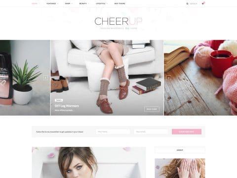 CheerUp WordPress Theme