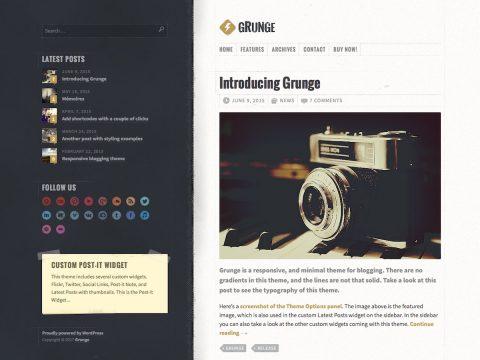 Grunge WordPress Theme