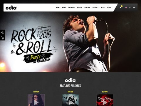 Odio WordPress Theme