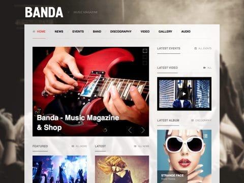 Banda WordPress Theme