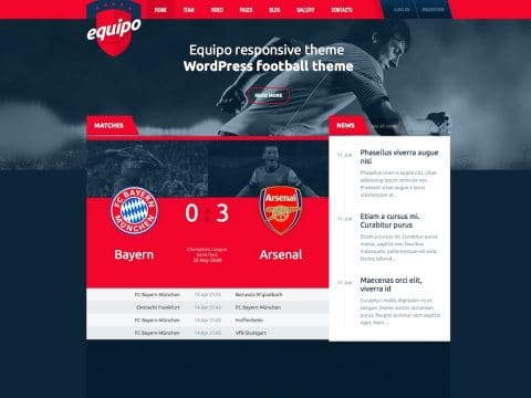 Equipo WordPress Theme
