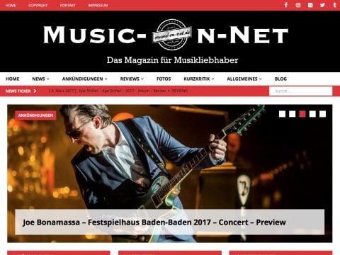 Music-On-Net Screenshot