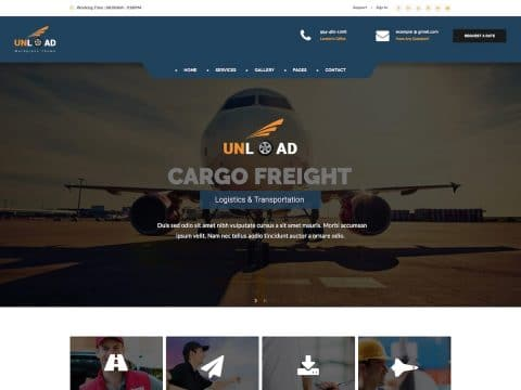 Unload WordPress Theme