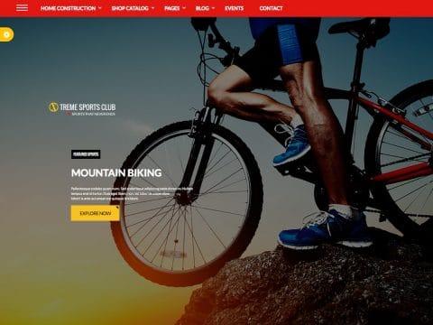 Xtreme Sports WordPress Theme