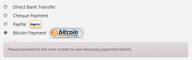Bitcoin Payments for WooCommerce