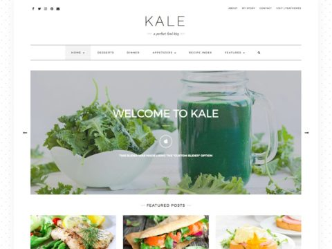Kale Pro WordPress Theme