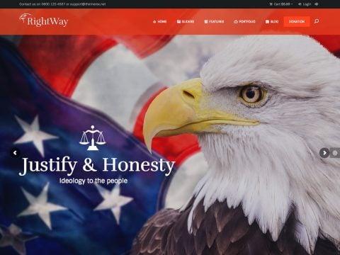 Right Way WordPress Theme